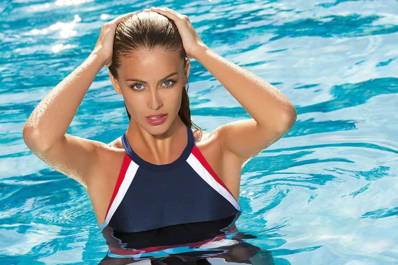 Спортивный купальник сквозь призму дизайна, рисунка и покроя