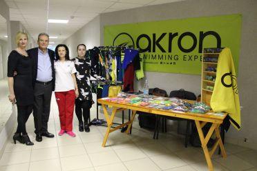 Akron на международном турнире по плаванию в Минске