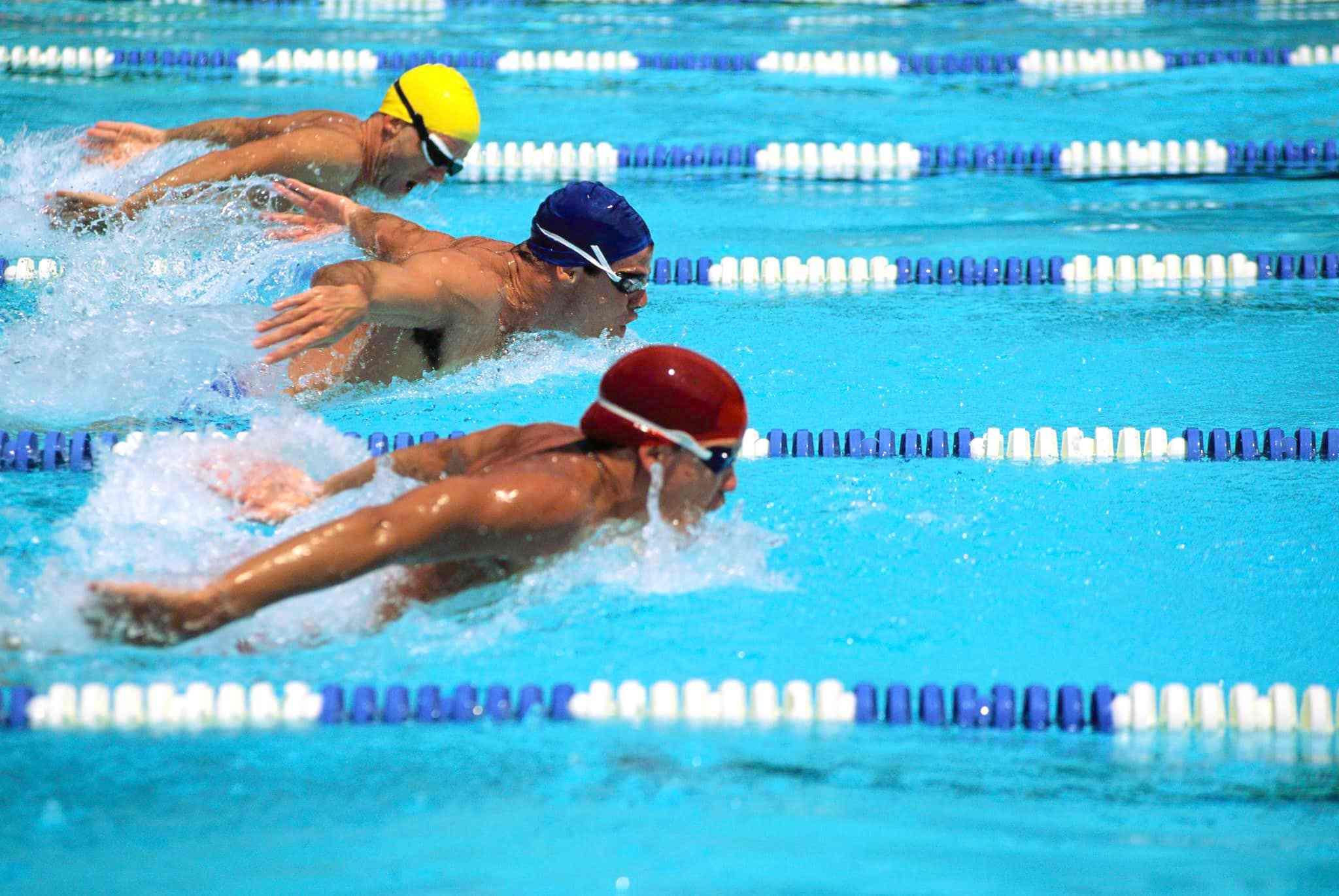 Подготовка к соревнованиям по плаванию