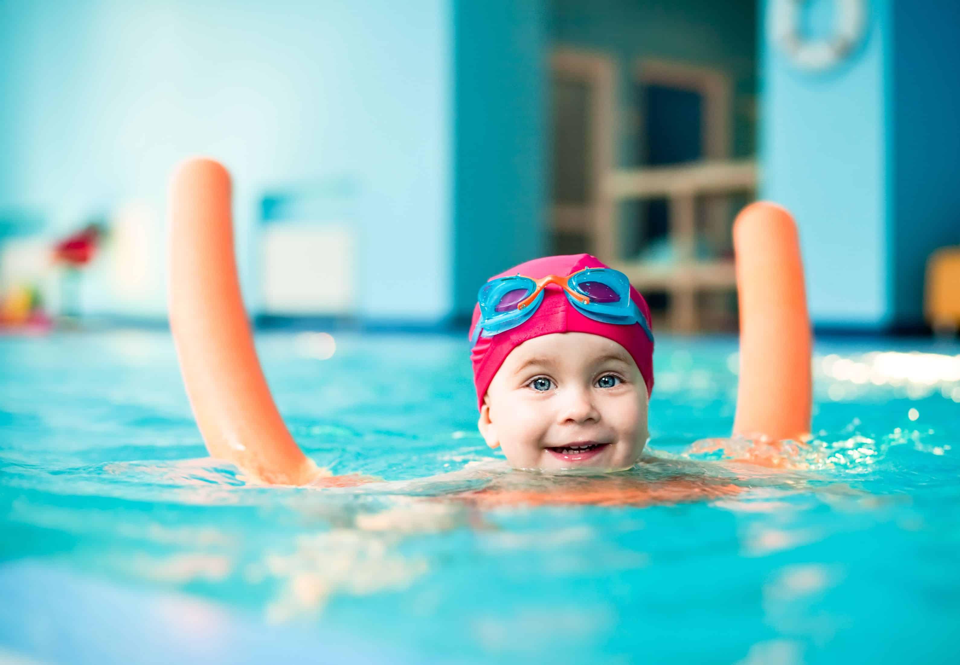 О пользе плавания для подрастающего поколения