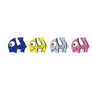 Шапочка для плавания силиконовая Fish