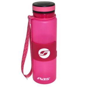 Бутылка для воды силиконовая с крышкой 650ml