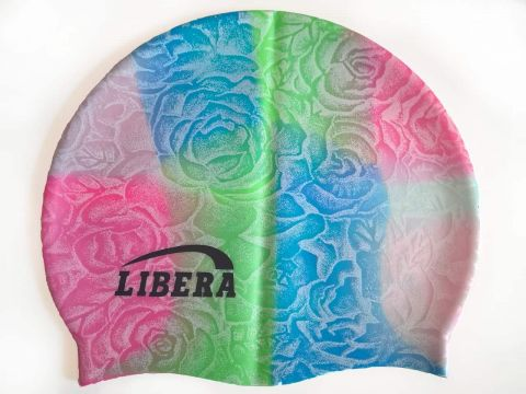 Шапочка для плавания силиконовая Libera СР23