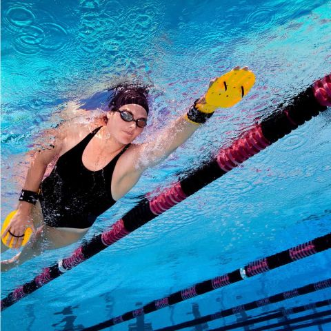Лопатки для плавания FINIS Bolster Paddles
