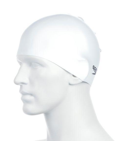 Шапочка для бассейна Plain Moulded Silicone Cap