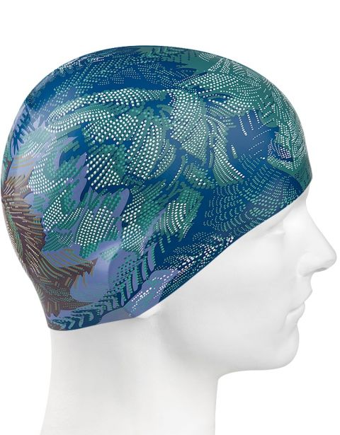 Шапочка для плавания Blue Flower